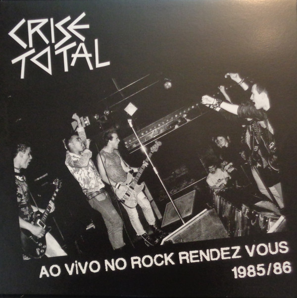 CRISE TOTAL - AO VIVO 86 LP