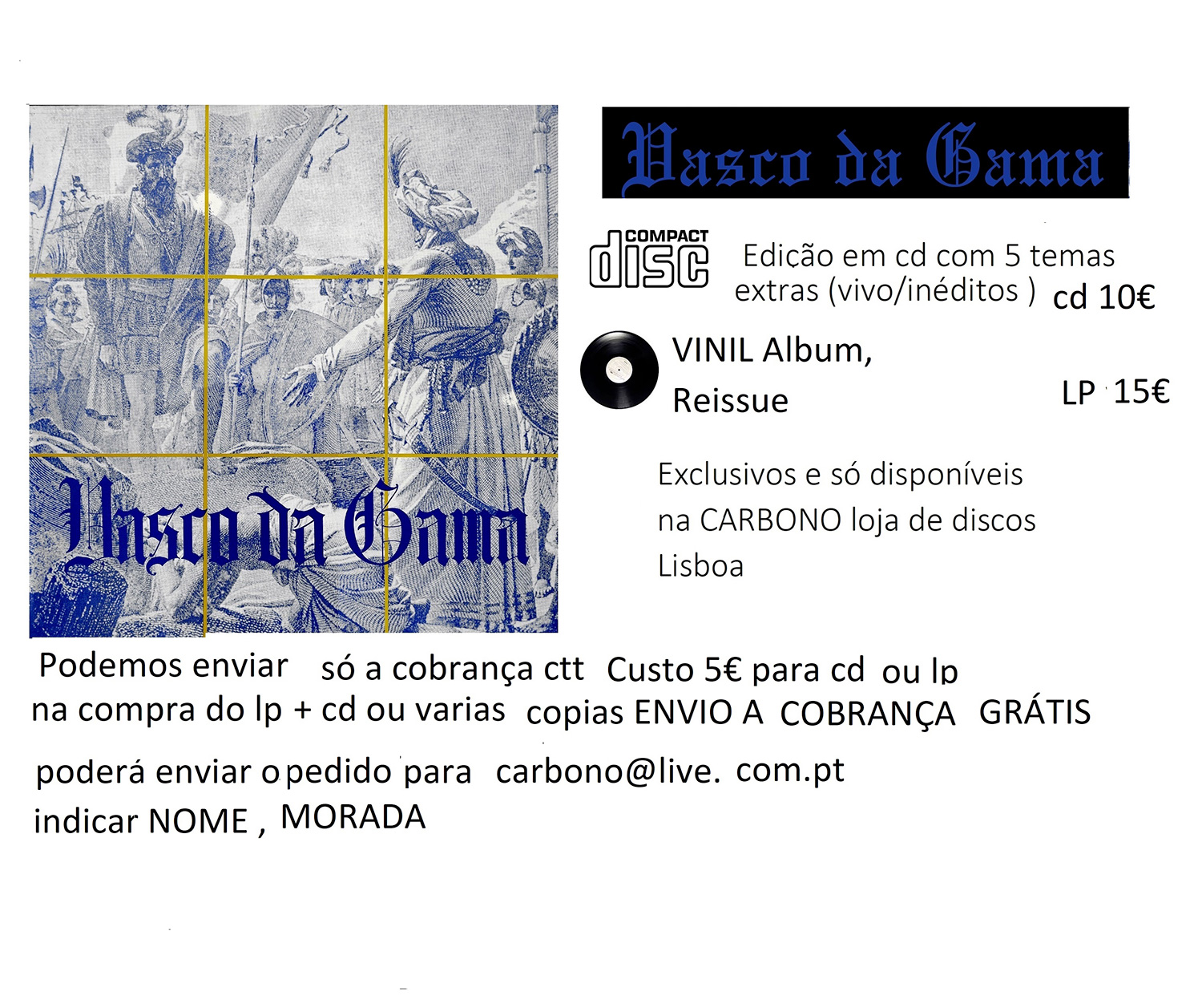 VASCO DA GAMA   CD/LP